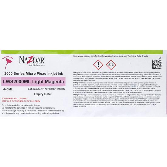 NAZDAR 2000 LIGHT MAGENTA 440M